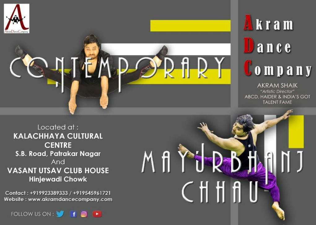 AkramDanceCompany Demo Class 18th Nov